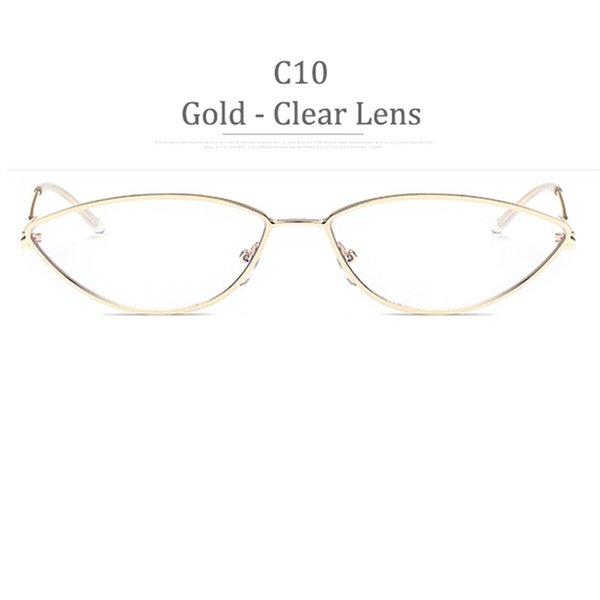 Obiettivo chiaro della struttura dell'oro di C10