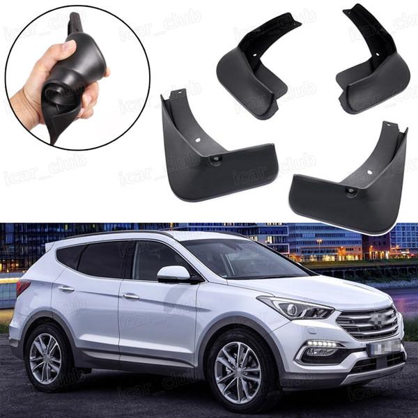 Nouveau 4x boue de garde-boue garde-boue garde-boue garde-boue Fit pour Hyundai Santa Fe 2013-2017 SUV version EU