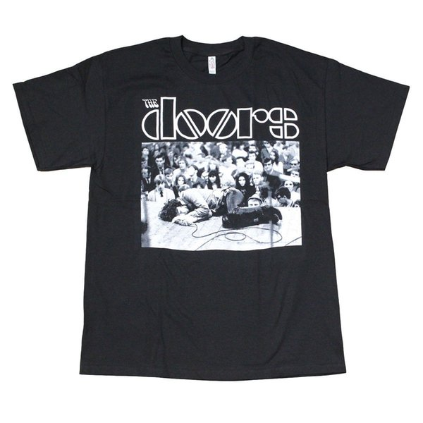 The Doors On Stage T-shirt pour homme noir Nouveau mode homme - T-shirt manches homme Nouveauté O - T-shirts