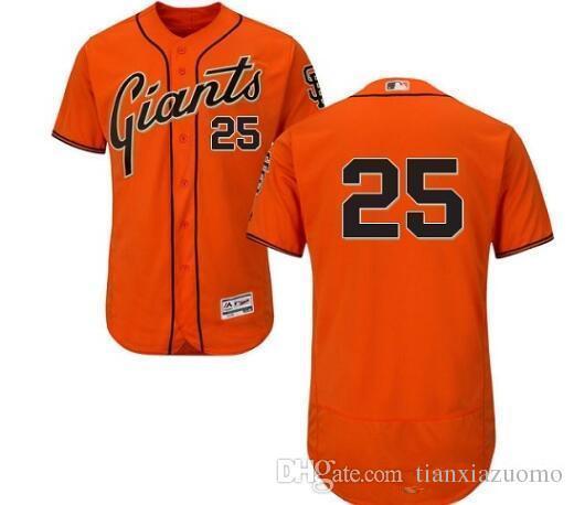df19c4693 2019 custom Men's Women Youth Majestic SF Giants Jersey #27 Juan Marichal 25  Barry Bonds 9 Brandon Belt Home Black Orange Baseball Jers