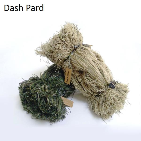 Peso 2 quilos grama estilo ghillie terno fio, fios de serapilheira sintético diy misty musgo camuflagem caça material kit tático