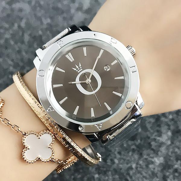 zichen080514 / Fashion Brand Women's Girls Date Calendar steel metal band Quartz wrist Watch P56