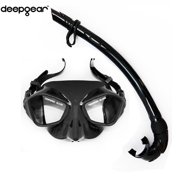 Top Spearfishing Gears Extreme Low Volume Silicon Diving Mask Flexible Folded Dive Snorkel for Adult Spearfishing and Scuba Diving