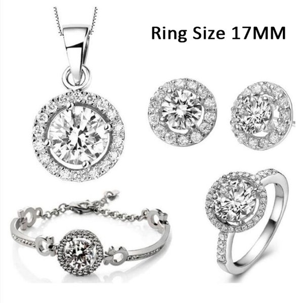 Silver Ring Size 17MM