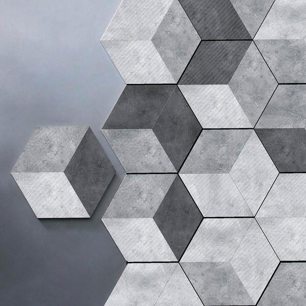 Großhandel 10 Teile / Satz Neue Nachahmung Marmor Hexagonal Fliesen  Aufkleber Badezimmer Küche DIY Hause Rutschfeste Bodenfliesen Aufkleber Von  ...