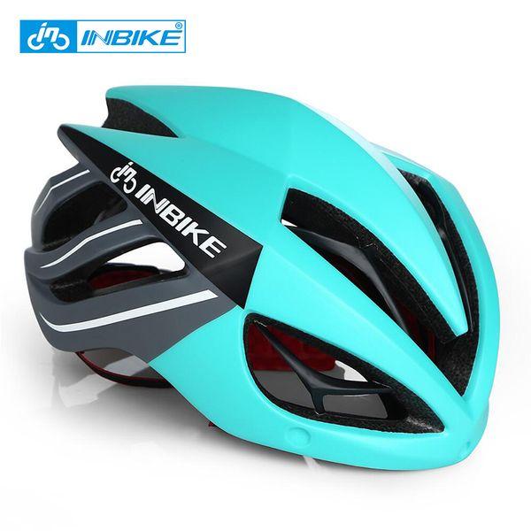 Inbike Cycling Helmet Bicycle Helmet Magnetic Goggles Mountain Road Bike Helmets Sunglasses Cycling Glasses 3 Lens Bike Helmet