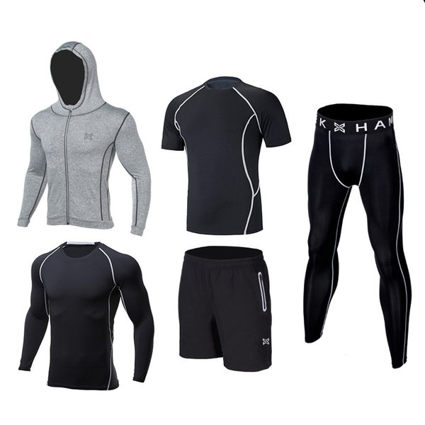 Kids compression running sets suit outdoor sport kit gym basketball soccer football fitness shorts shirts leggings pants jackets