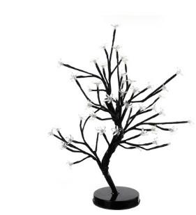 Festive & Party Supplies 48LED battery box, plum blossom potted tree lamp, Christmas Day decorating night lamp