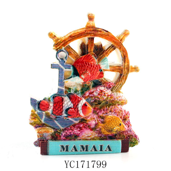 YC171799 factory directly sell mamaia romania refrigerator magnets