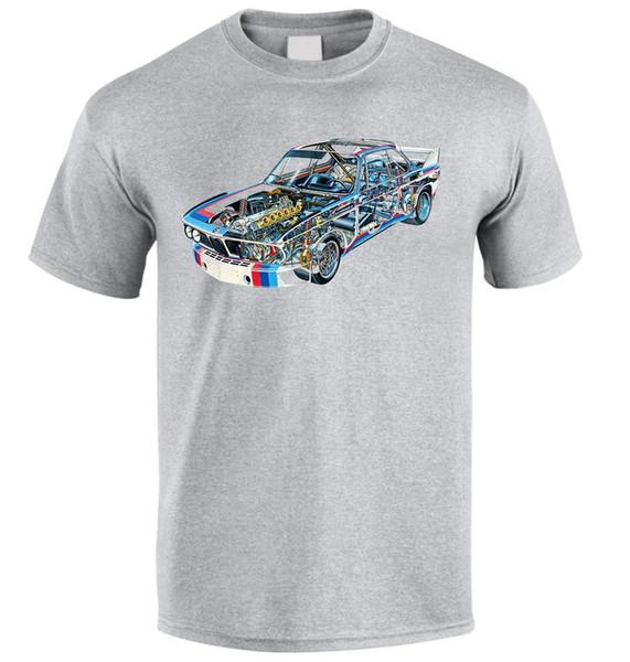KAUFEN 3,0CSL 1975 DTM Fan Fan T-Shirt Größe S-XXL