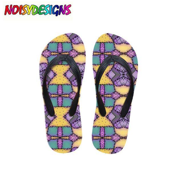 Women Flats House Slipper 3D Patchwork for Ragdoll Print Summer Fashion Beach Sandals Girl Ladies Flip Flops Rubber Flipflops