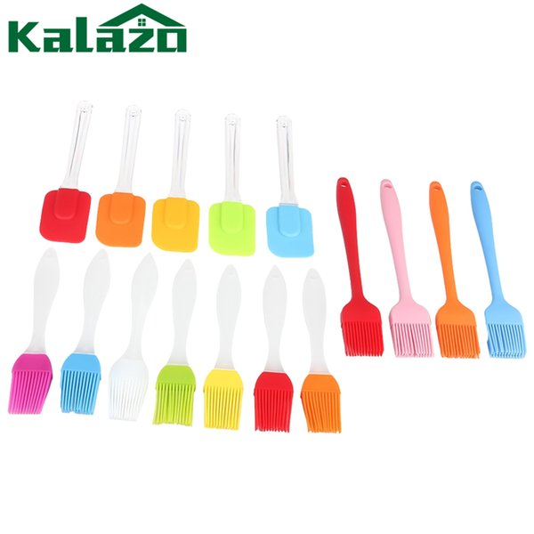 Multi Color Silicone Basting Pastry Brush Oil Brushes For Cake Bread Buer Baking Tools Safety BBQ Barbeque Brush