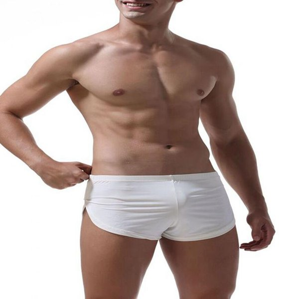 Yipihorse brand Men Male Underwear comfortable Sexy Man Boxer shorts U convex pouch silk Sexy Body XXL underpant Factory sale