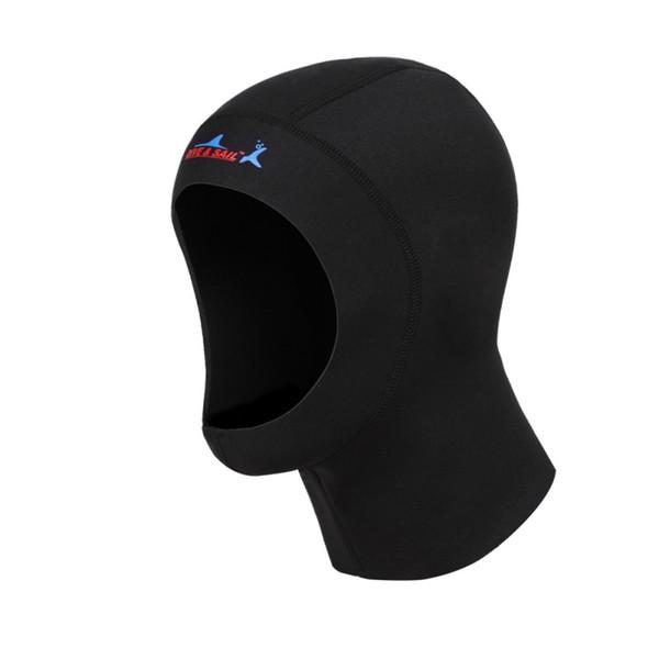 Neoprene 3mm Scuba Diving Cap With Shoulder Snorkeling Equipment Hat Hood Neck Cover Winter Swim Warm Wetsuit Protect Hair
