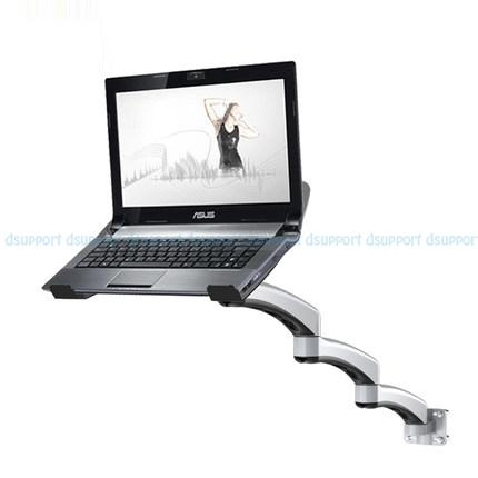 Ultra Long Arm Aluminum Alloy Full Motion Wall Mount Laptop Holder Bed Pole Mount Laptop Stand Arm Monitor Holder