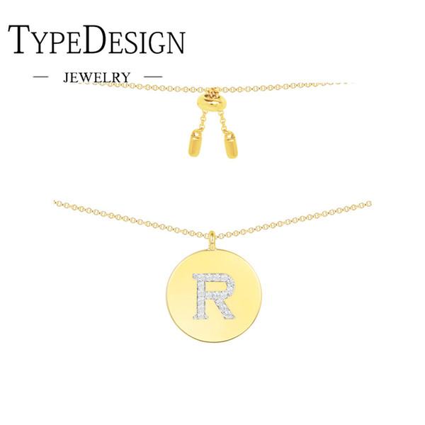 TIPOLOGIA GIOIELLI Classica lettera R in argento con diamanti