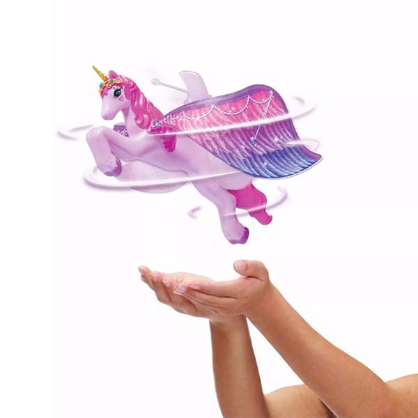 Saleaman Flying Figure Magicamente Flying Flutter Bambole Pegaso Fata Toys Control Horse