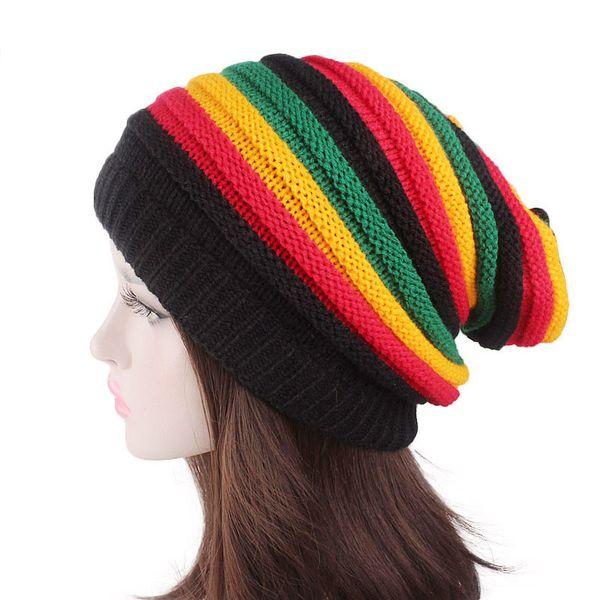 Compre Sombrero De Jamaica Reggae Rasta Unisex Sombreros De Moda ...