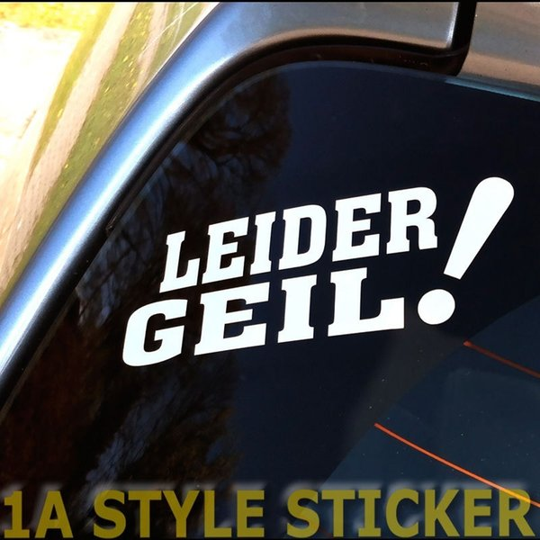2018 Car Styling For 1x Leider Geil Aufkleber Tickethalter Nfc Dapper Static V6 V5 Stickerbomb Fun Wv From Redchinatown 101 Dhgatecom