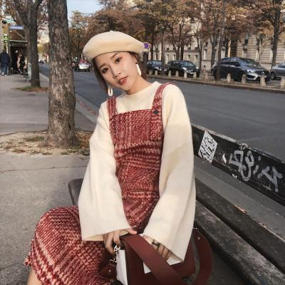 2018 new winter dress Han edition article pit round collar loose sweaters