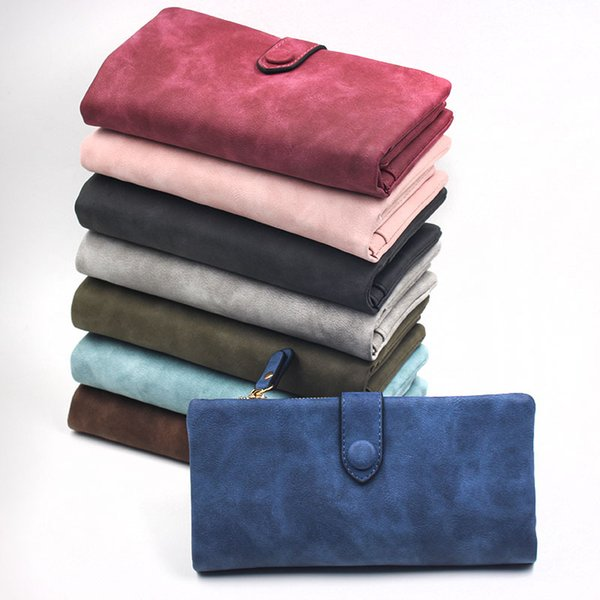 2018 Top Women Purses PU Leather Female Wallet Perse Card Holder Coin Money Bag Soft Ladies Wallet