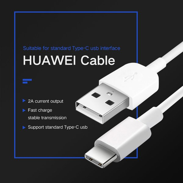 Alta velocidad USB-C cable de carga cable de datos Cargador para Huawei p9 p10 honor 9 Nova 2