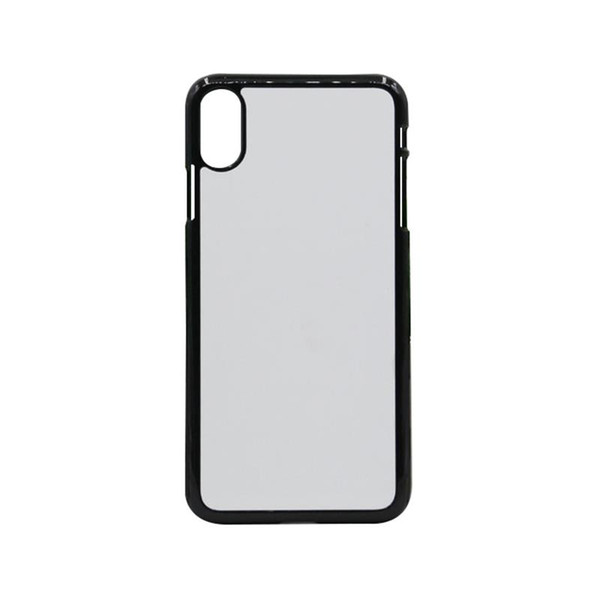 Blank Case for iPhone X XS XS MAX XR 2D Sublimation Print Hard Plastic Phone Case with Metal Insert Mobile Phone Shell