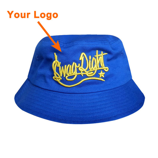 Bucket style 100% cotton material unisex custom color full close clothes  accessories small amount outdoor sport sun cap custom bucket hat 5104062405ef