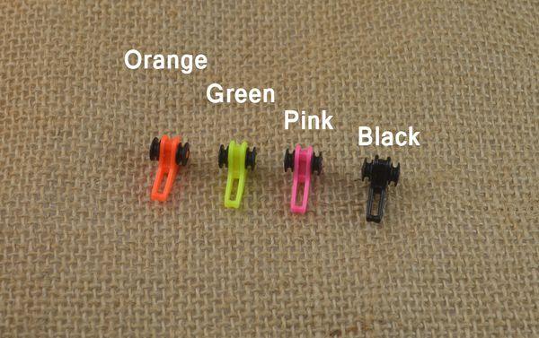 rod pole 2PCS Best Buy! Multiple Color Plastic Fishing Rod Pole HooK Keeper Lure Spoon Bait Treble Holder Small Fishing Accessories