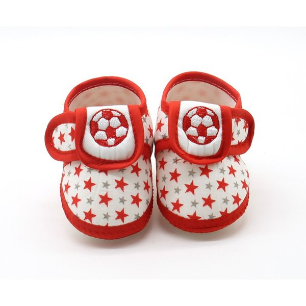 Baby Shoes In Baby First Walker Newborn Girl Boy Soft Sole Anti-skid Sneaker Casual Shoes Prewalker G00524