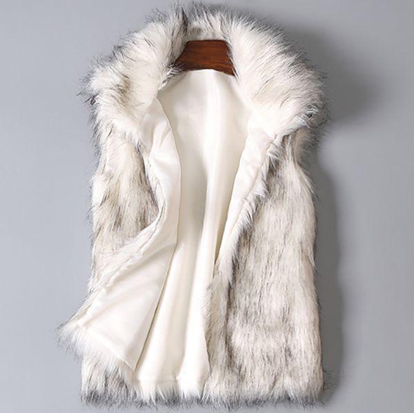 Şık Benzersiz Kadın Yelek Arktik Fleece Kış Çizgili Mürettebat Yaka Uzun Kollu Bluz Katı Bayanlar Coats Yelek manteau femme