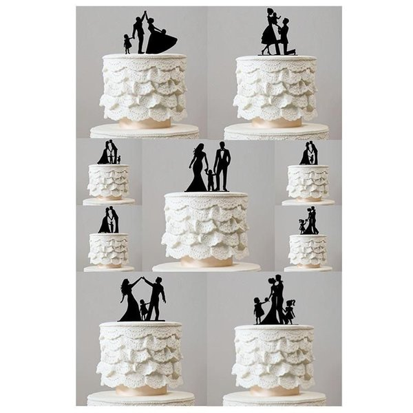 Family Style Cake Topper Wedding Party Birthday Party Anniversary Bridal Shower Decorations Kids Gift cake decor Rustic wedding