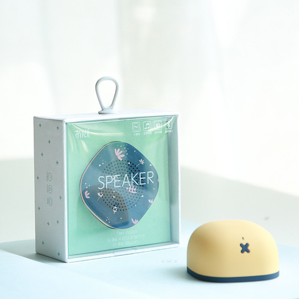 top popular Mosum Wireless Bluetooth 4.2 Speaker Mini Protable Speakers with Selfie Control Micro USB Skin-Friendly Cute for iPhone Xiaomi 2019