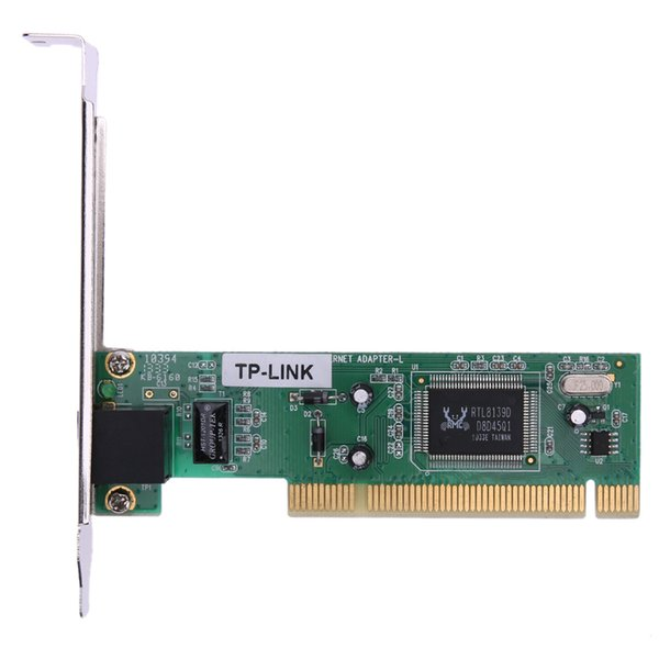 Wired Networking Cards PCI Realtek RTL8139D 10/100M 10/100Mbps RJ45 Ethernet Network Lan PCI Card Adapter New