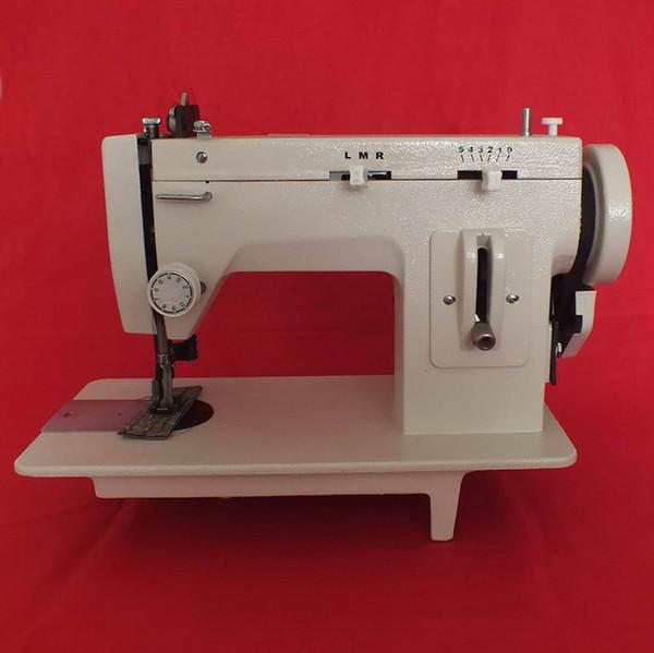 Pelliccia da 7 pollici, pelle, vestiti caduti addensare macchina da cucire, stich rovesciata e funzione ZIG ZAG, 220V / 110V per versione corta