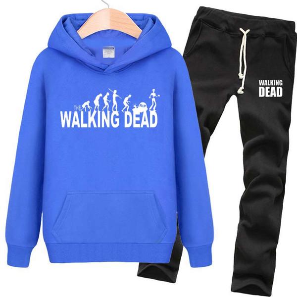 Walking dead hoodies Rip zombie sweat shirts Cool fleece clothing Pullover sweatshirts Sport coat Outdoor jackets