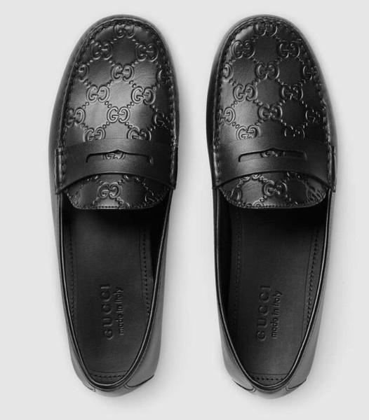 huweifeng3 Signature Mokassins Loafers Schnürschuhe Monk Straps Men Fahrer Drivers Sandals Slides Sneakers Dress Run Shoes