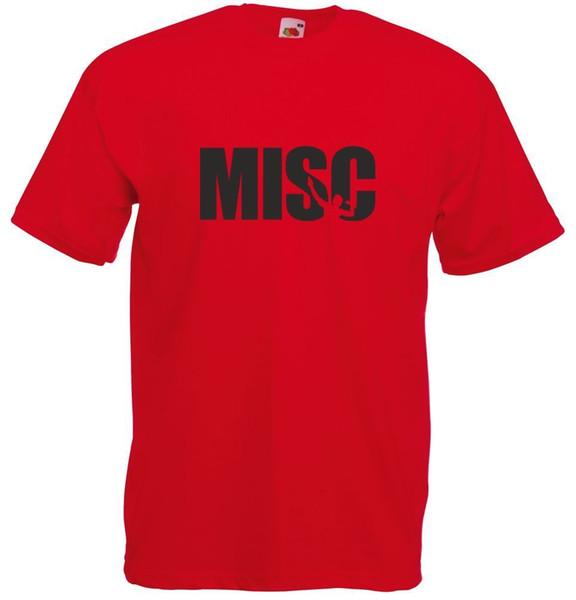 Misc, Herren bedrucktes T-Shirt