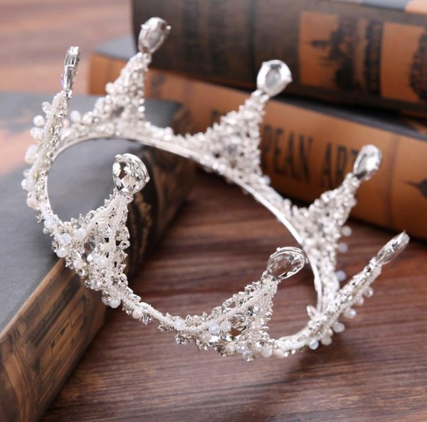 New alloy water drill crown bridal crown dress accessories
