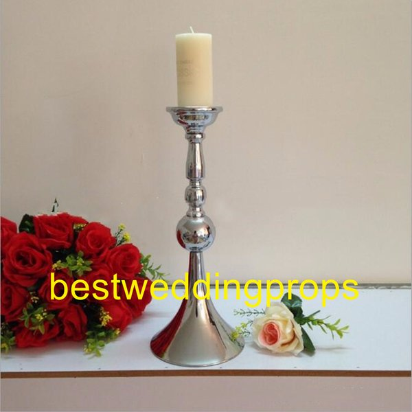 New Arrival Horn-shaped candle holder Wedding Table candle stick Party Centerpiece Home Decoration best0192
