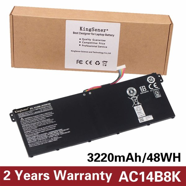 KingSener AC14B8K Battery For Aspire E3-111 E3-112 CB3-111 CB5-311 ES1-511 ES1-512 E5-771G V3-111 V3-371 ES1-711 15.2V 48WH