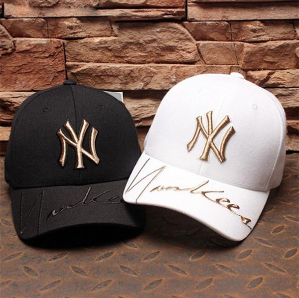 2018 modemarke hüte hohe qualtiy baseballmützen für männer frauen marke kappe sport hip hop flache sonnenhut knochen gorras günstige 3 farbe wählte A-61