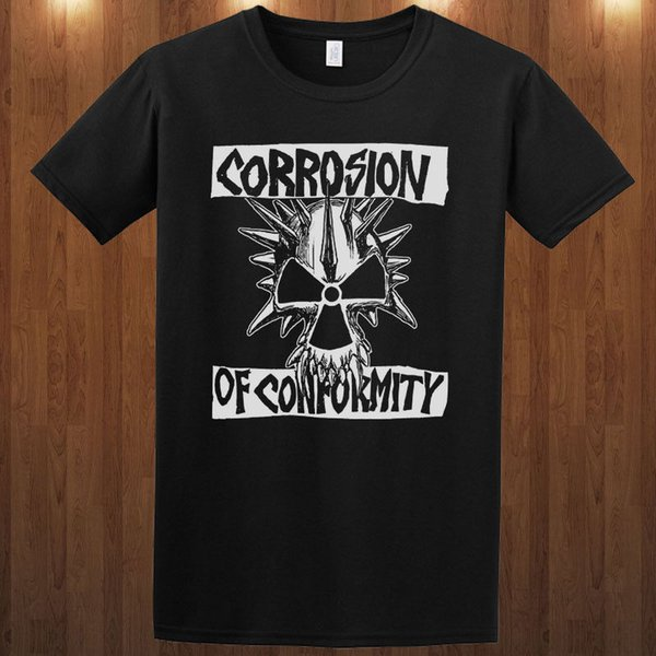 Shirt Sale Corrosion Of Conformity S M L Xl 2Xl 3Xl 4Xl Short Sleeve Printing Machine O-Neck T Shirts For Men