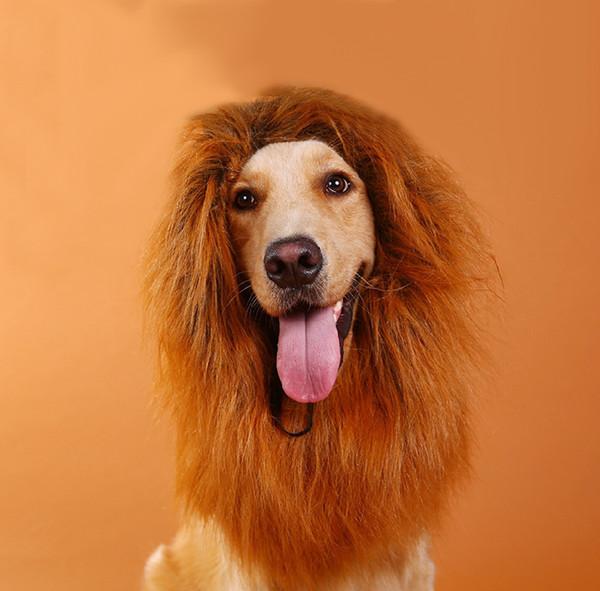 Löwenmähne für Hund mittlere bis große Hundelöwe Mähne für Hund custome