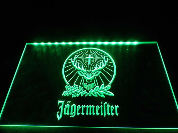 TR001g - Jagermeister Neon Light Sign