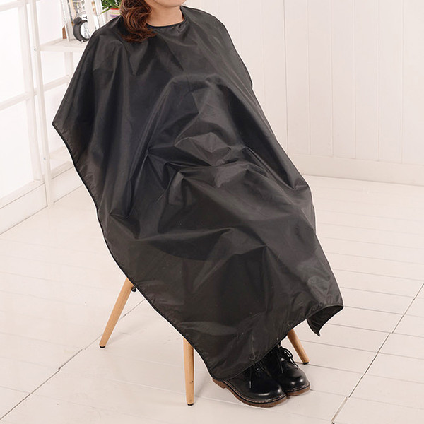 10X Hair Cutting Cape Large Salon Adult Waterproof Hair Cutting Hairdressing Cloth Barbers Hairdresser Cape Gown Wrap Black