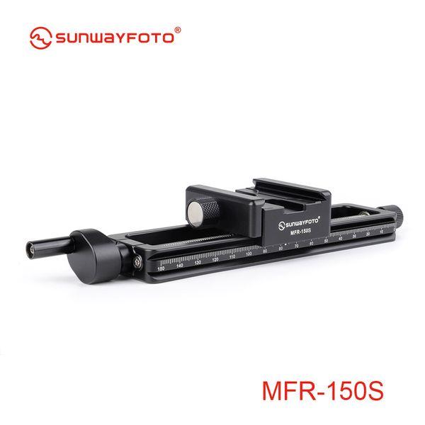 SUNWAYFOTO MFR-150s Kamerazubehör Stativkopf Makro Fotografie Fokus Makro Fotografie Statief Fokussierung Schiene Schieberegler