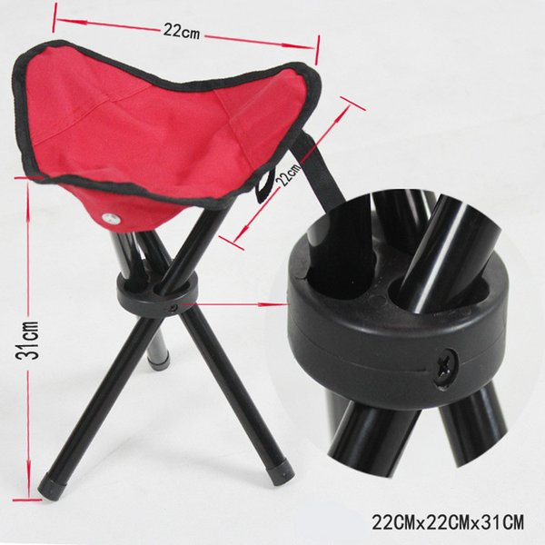 Fishing Portable chair Pocket stool Camping Furniture Canvas stool fishing Cushion Folding Chair Outdoor Gear Free Shipping