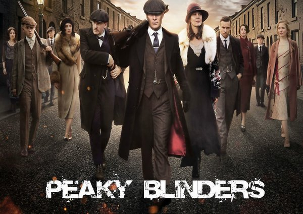 PEAKY BLINDERS TV SERIES GLOSSY Home Decor Wall Stickers Art Silk Poster 24x36inch 24x43inch