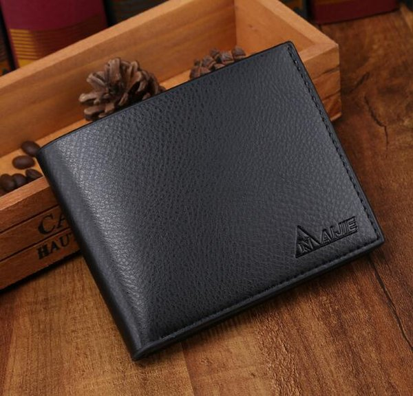 2018 special men's purse, male short, vertical, horizontal, leisure wallet, student youth fashion wallet. wallet Wallet